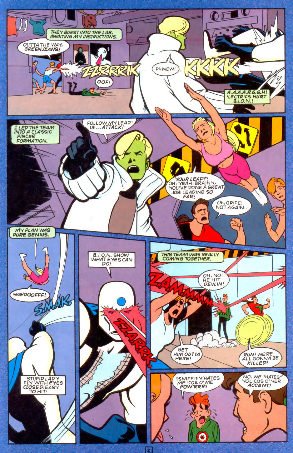 Legion of Super-Heroes (1989) 50 Page 51