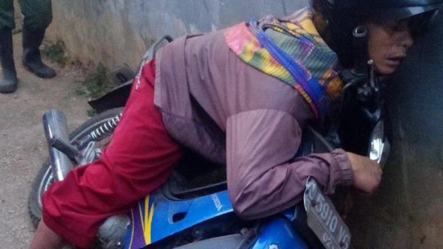 Pamit Mau Berangkat ke Pasar, Agus Tewas dengan Posisi Duduk di Motornya