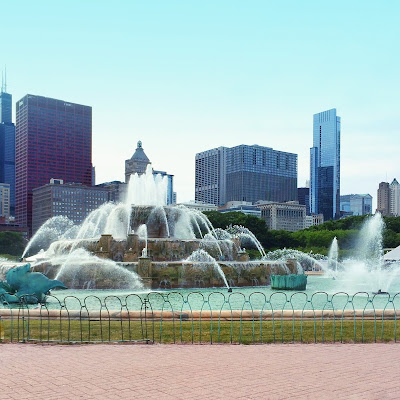 Chicago, Grant Park, Buckingham Fountain