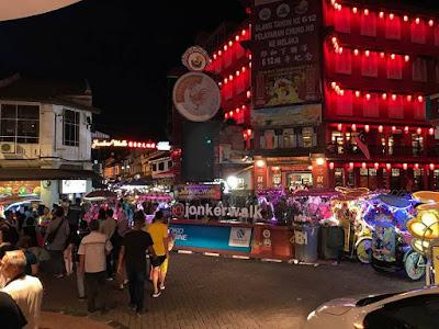 Tempat Menarik di Melaka Jonker Walk