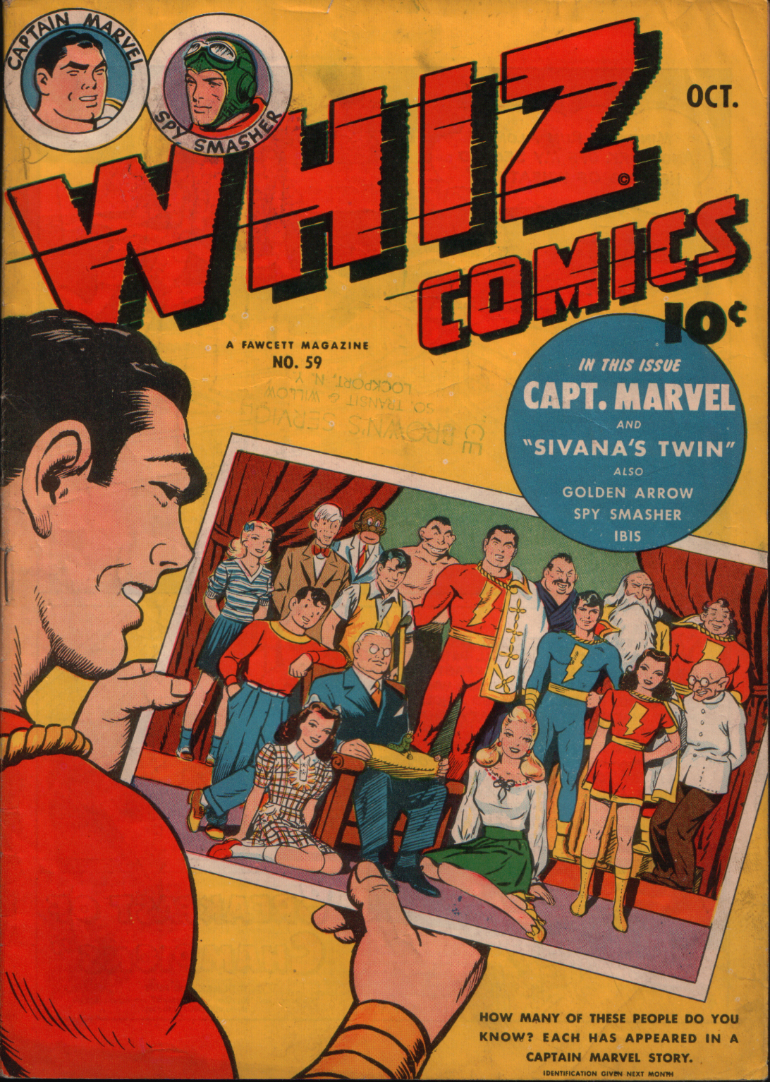 WHIZ Comics 59 Page 1