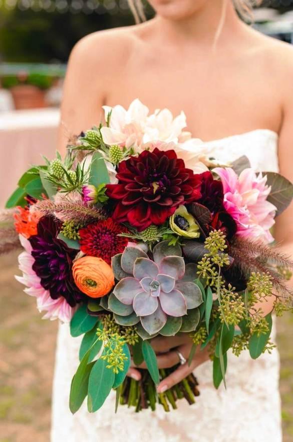 Buket Bunga Pengantin_Bunga Pernikahan Cantik Dan Indah 201712