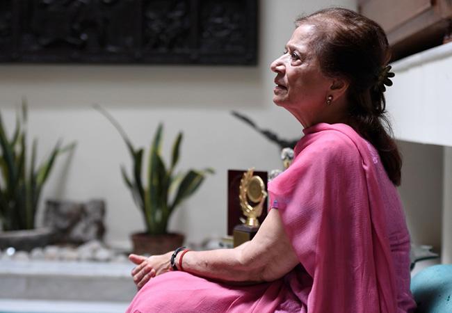 Tinuku Rita Choksi, Indian grandmother leads elderly charge for bridge gold