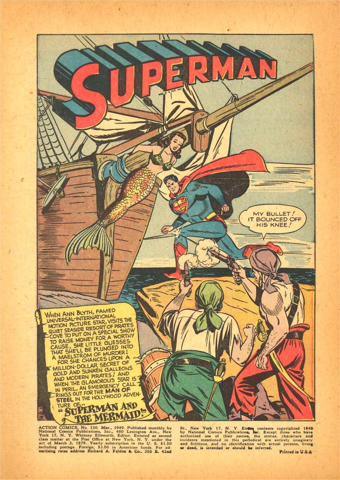 Action Comics (1938) 130 Page 1
