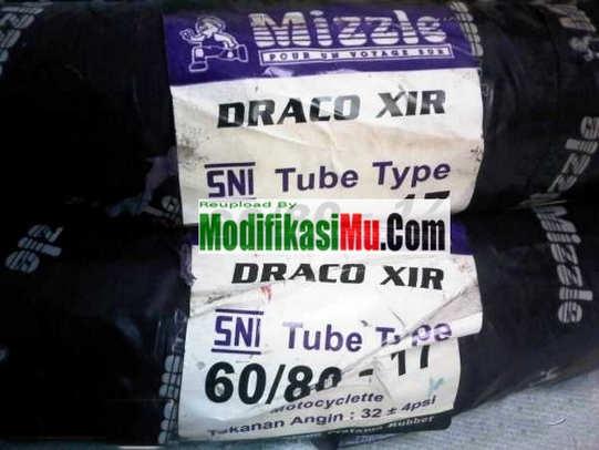 Ban mizzle draco drag-compound 60-80-17 - Brosur Katalog Daftar Harga Ban Motor Mizzle Tubeless Ban Luar dan Ban Dalam Terbaru Yang Murah