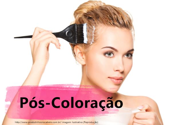 Mascaras de tratamento após coloração