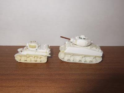 M5 Stuart & M4A3E2