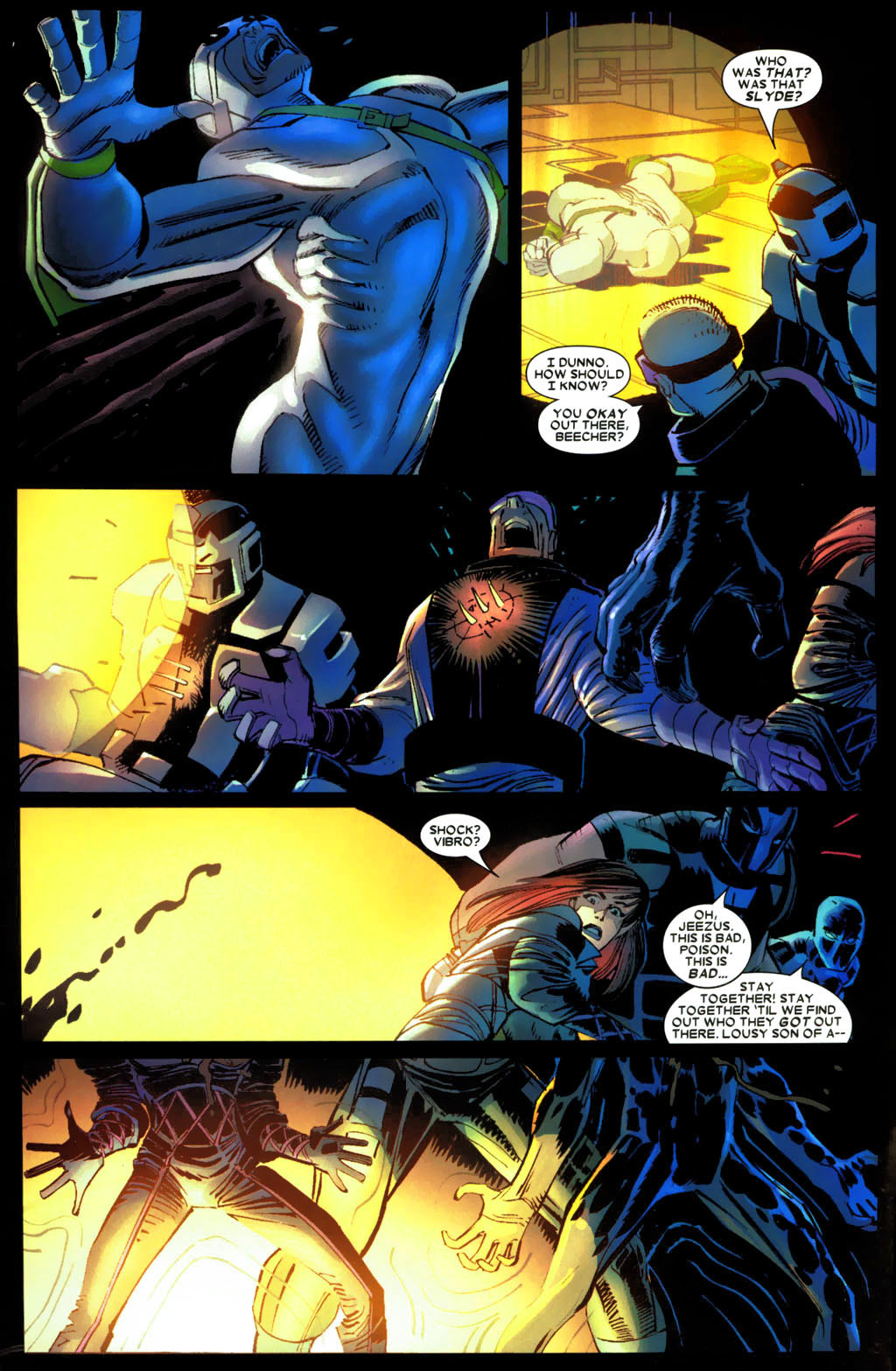 Read online Wolverine (2003) comic -  Issue #27 - 10