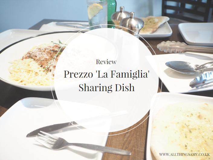 Prezzo La Famiglia Review