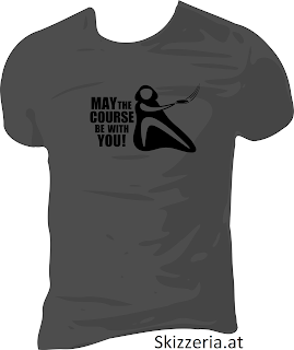 Shirt May the course be with you Disc Golf