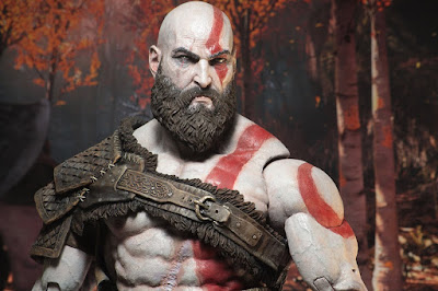 "Fotos e info de Kratos 1/4 de ""God of War 4"" - Neca"