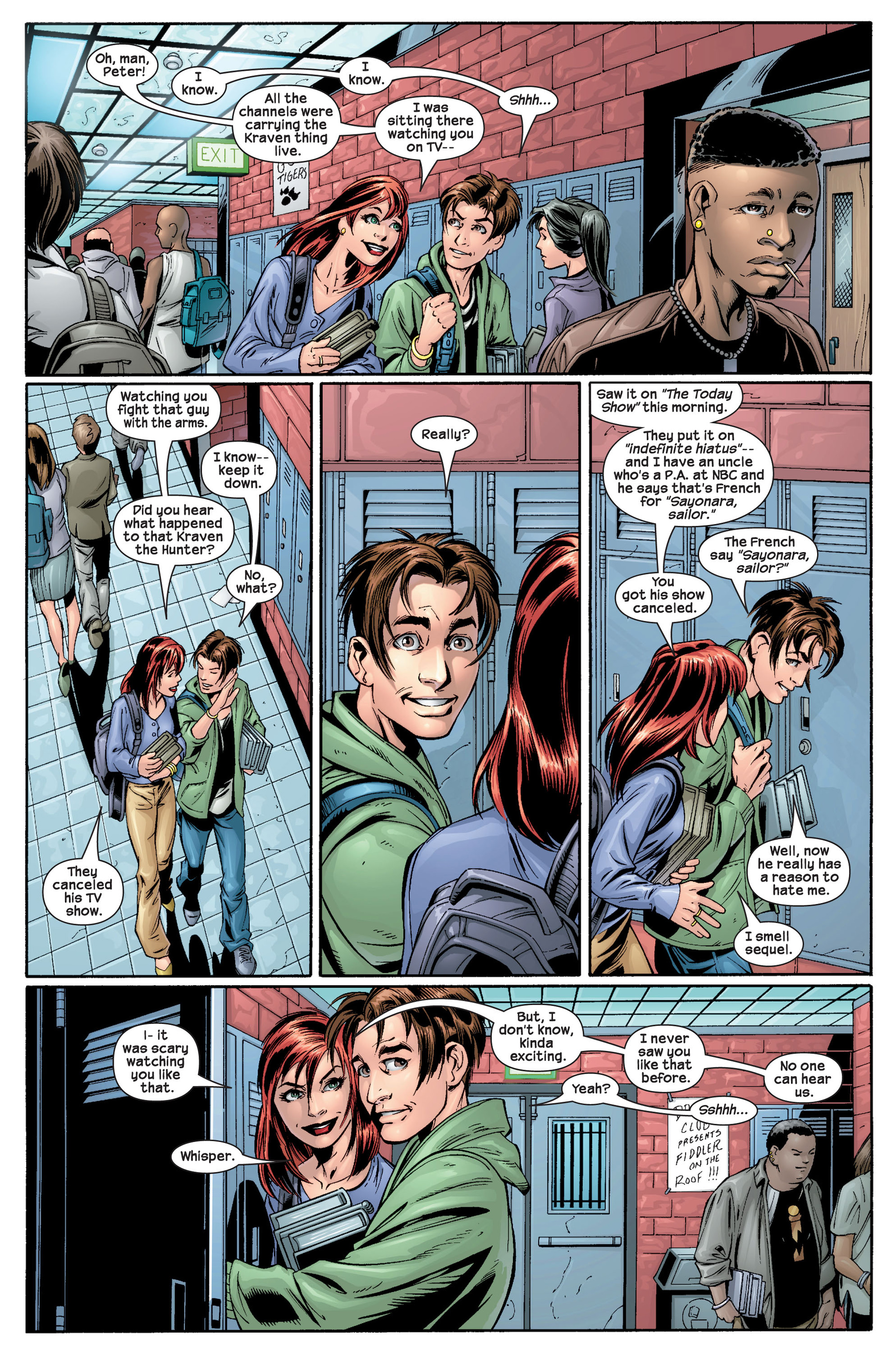 Read online Ultimate Spider-Man (2000) comic -  Issue #22 - 12