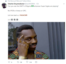 23sa - Reactions to the Super Eagles victory against Cameroon [Funny Photos]