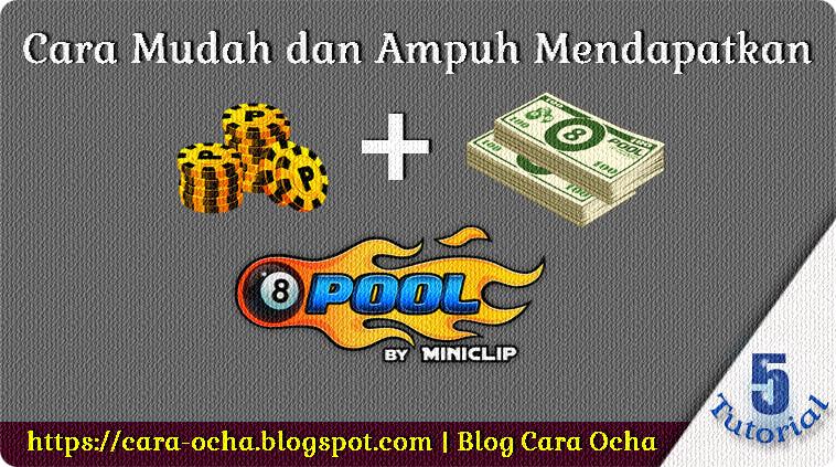 Cara Mudah dan Ampuh Mendapatkan Koin + Cash 8 Ball Pool Gratis! Server5