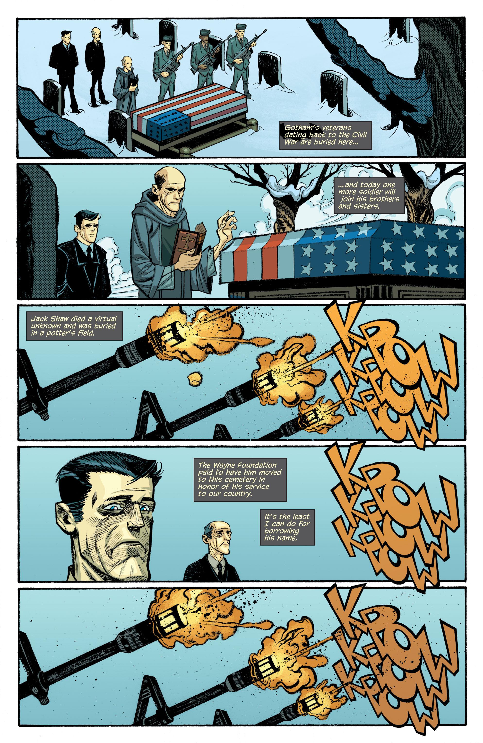 Read online Arkham Manor comic -  Issue #6 - 12