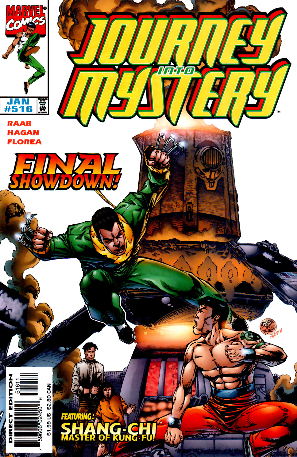 Journey Into Mystery (1996) issue 516 - Page 1