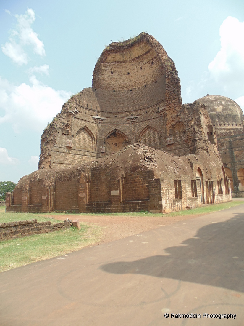 Ashtur - The Bahmani Tombs in Bidar, Karnataka, India
