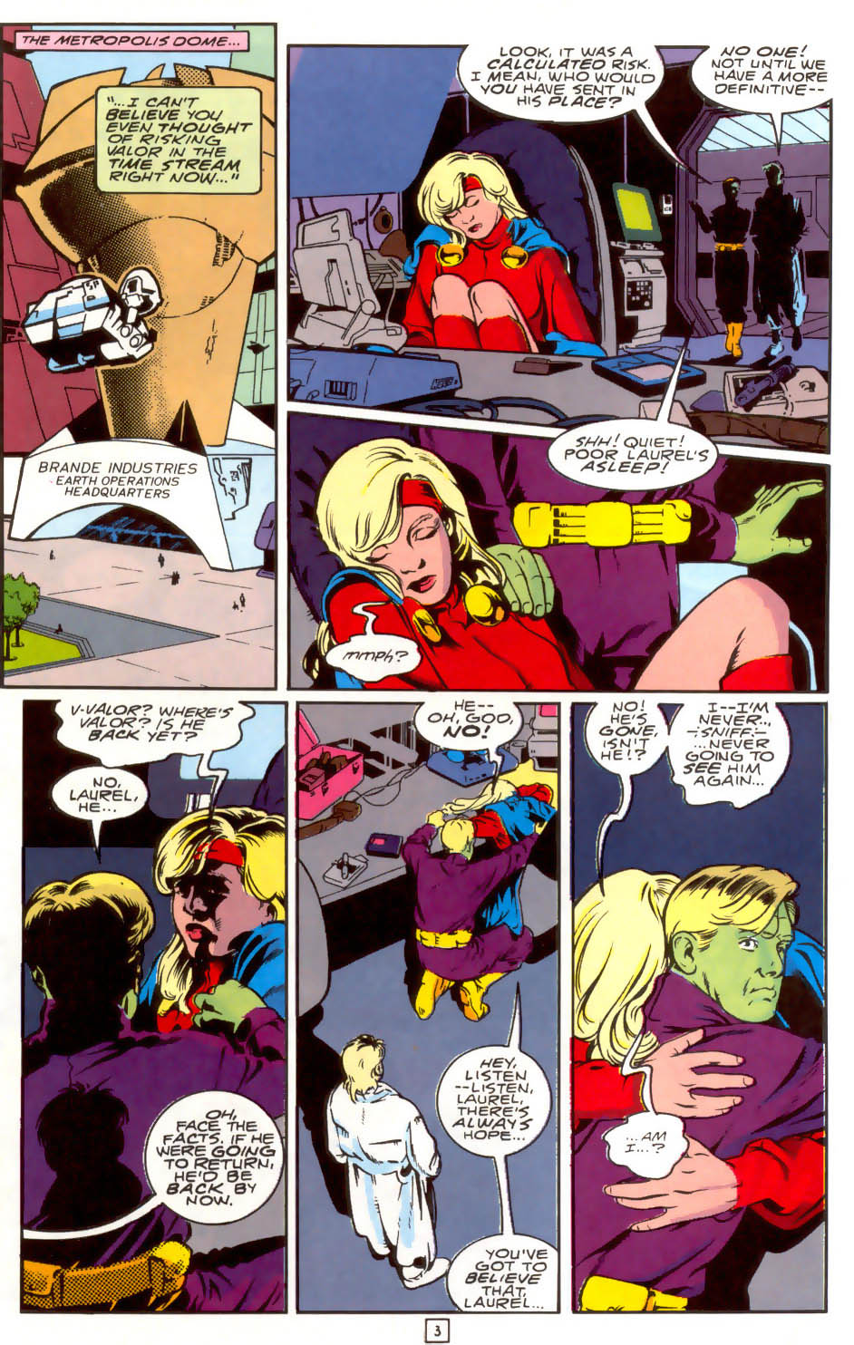 Legion of Super-Heroes (1989) 40 Page 3