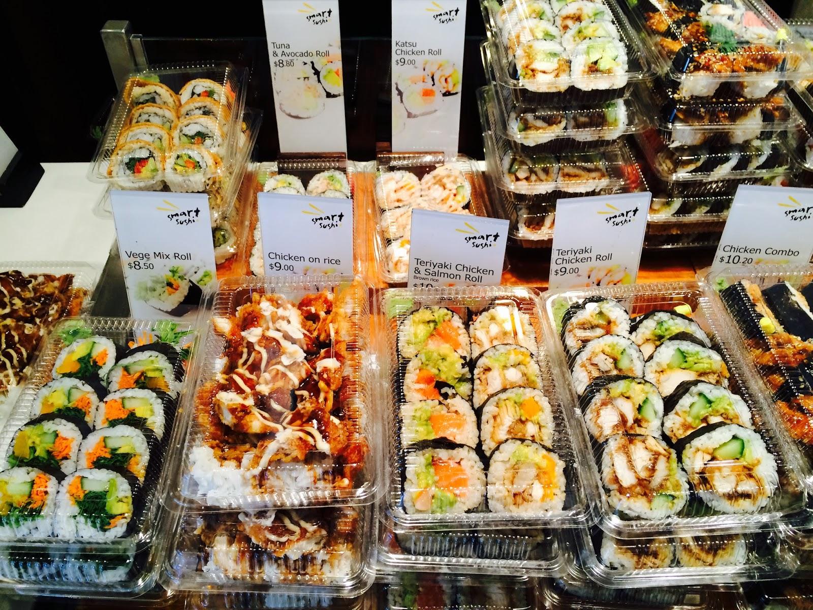 Auckland Hotspot guide - Britomart Smart Sushi