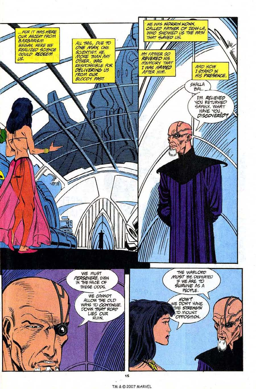 Read online Silver Surfer (1987) comic -  Issue #91 - 17