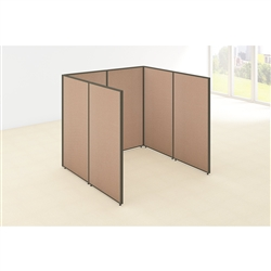 Bush ProPanels Single Cubicle