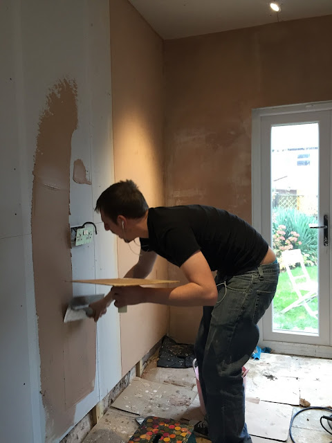 how to plaster diy style