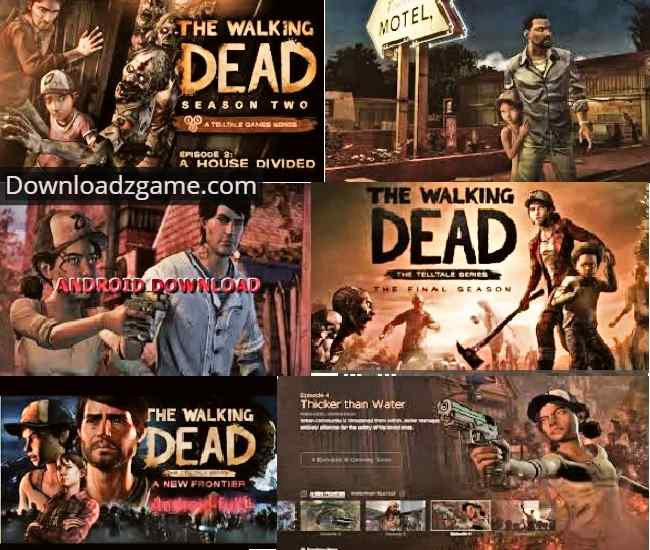 download walking dead game