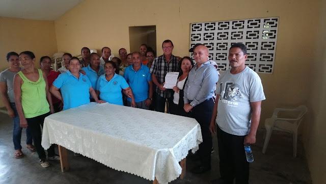 Fundación Ramona Polanco (Doña Rosa) entrega significativo aporte para bomba de agua