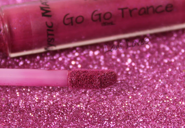 Notoriously Morbid Go Go Trance Mystic Matte Swatches & Review