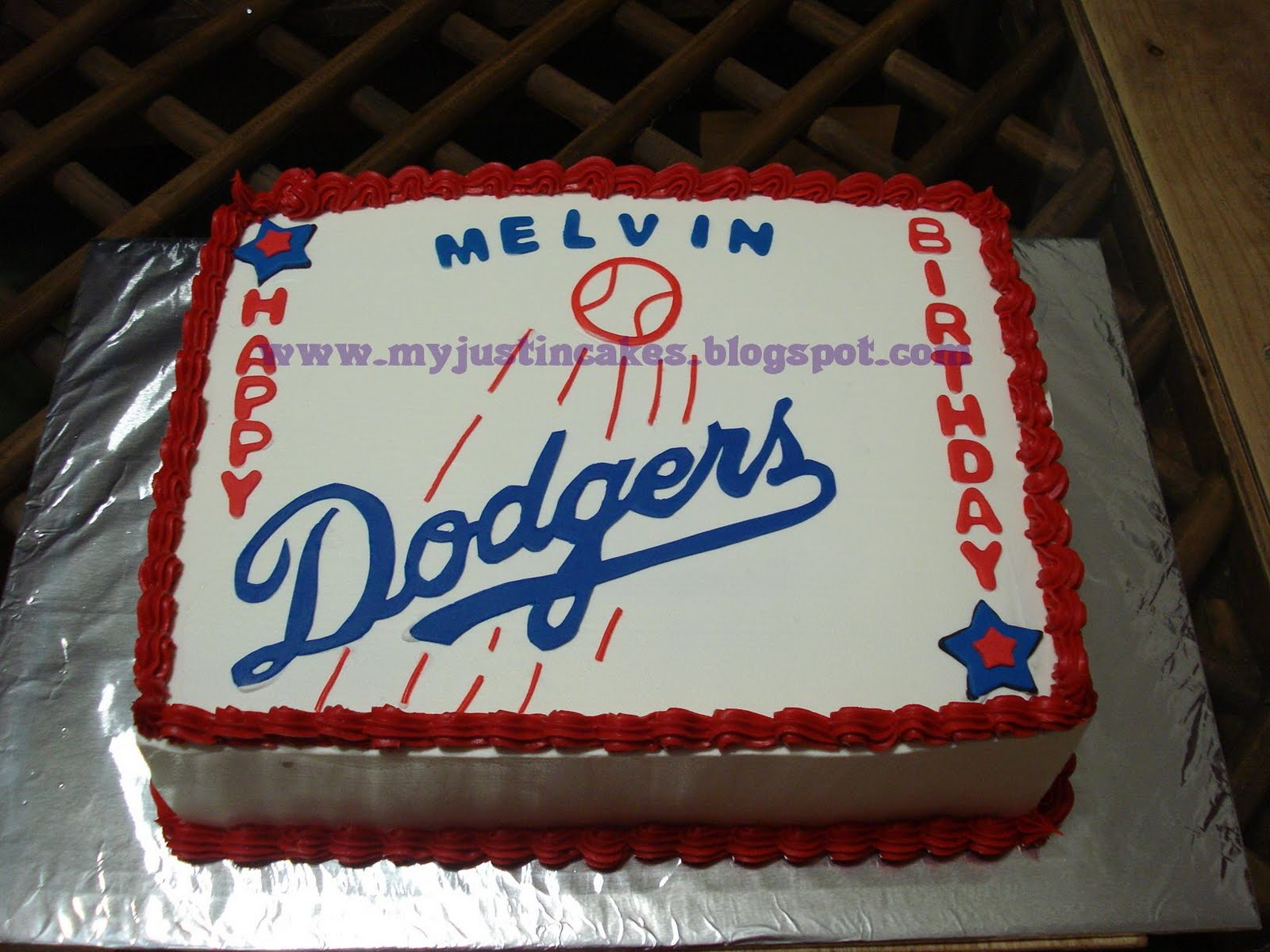 Just In Cakes Dodgers Cake
