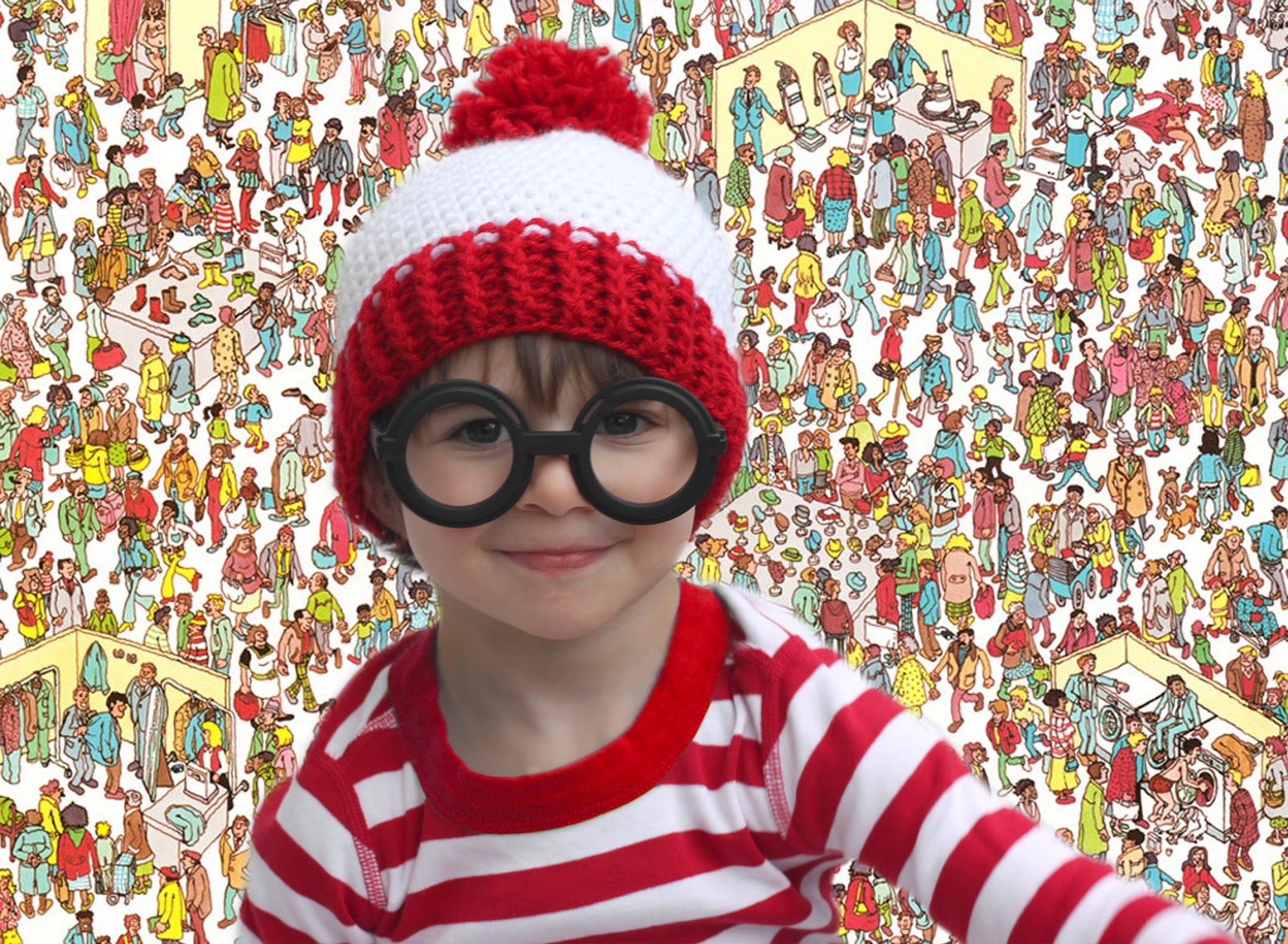 Waldo crochet hat pattern and costume repeat crafter me waldo crochet hat pattern and costume bankloansurffo Image collections