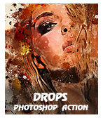 \  - Drops2 - Quick Sketch Photoshop Action