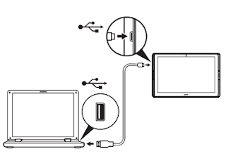 Connecting to a PC as a USB storage device