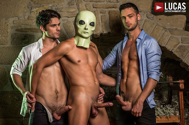 LucasEntertainment - THE XXX FILES | DEVIN FRANCO, DAMON HEART, BOGDAN GROMOV