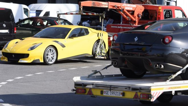 Equatorial Guinea's VP Obiang's cars seized in Switzerland