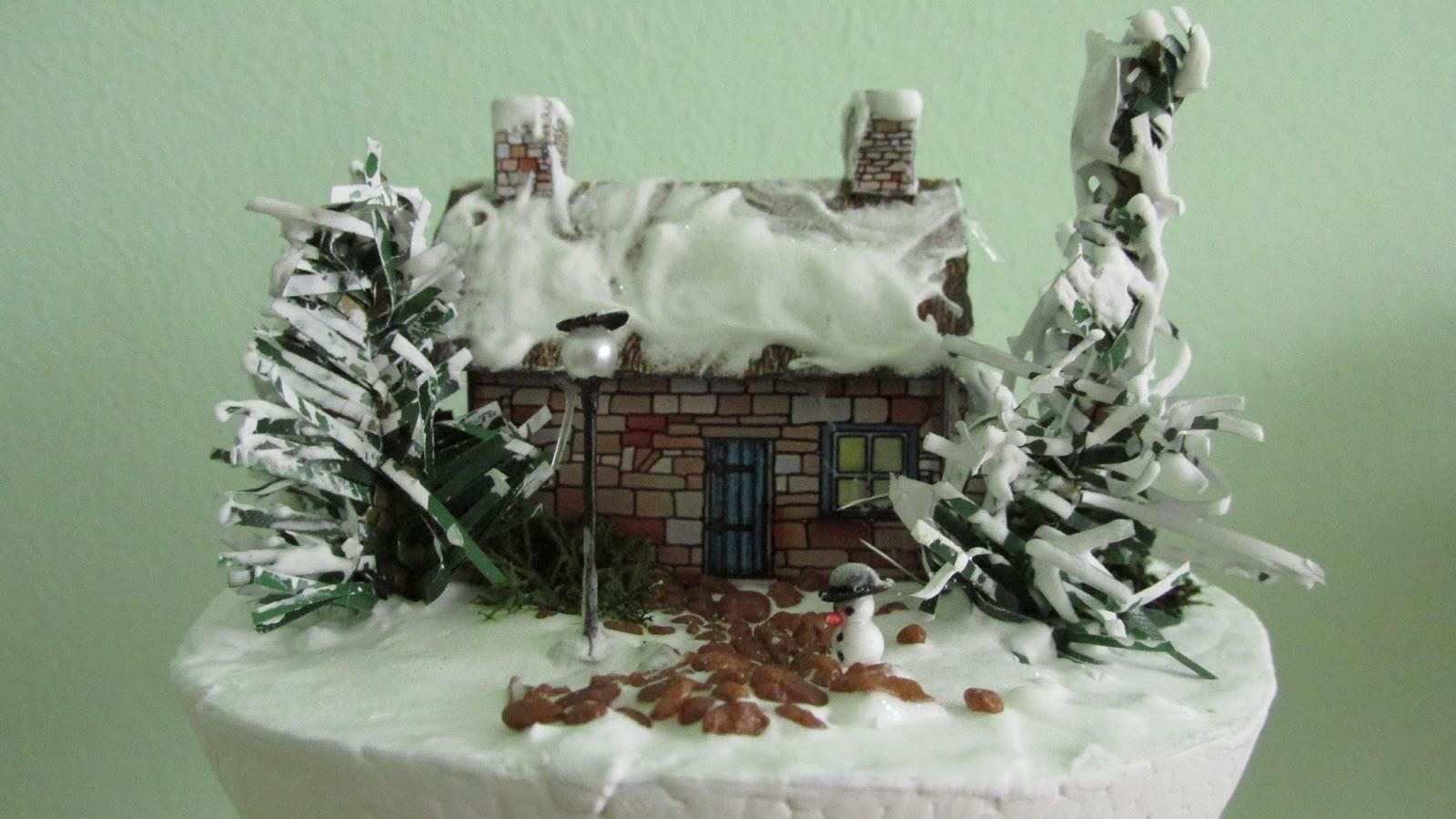 Śnieg, Choinka, Makiety