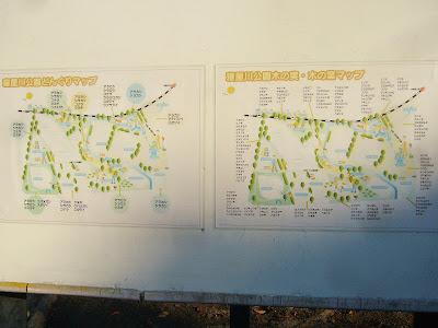 寝屋川公園『どんぐりマップ』と、『木の実・木の葉マップ』