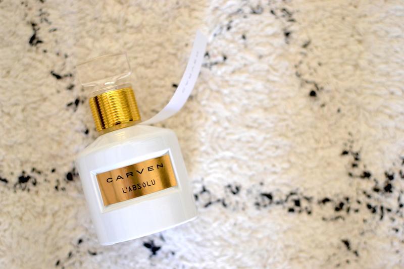 """parfum """"l'absolu"""" de chez Carven"""