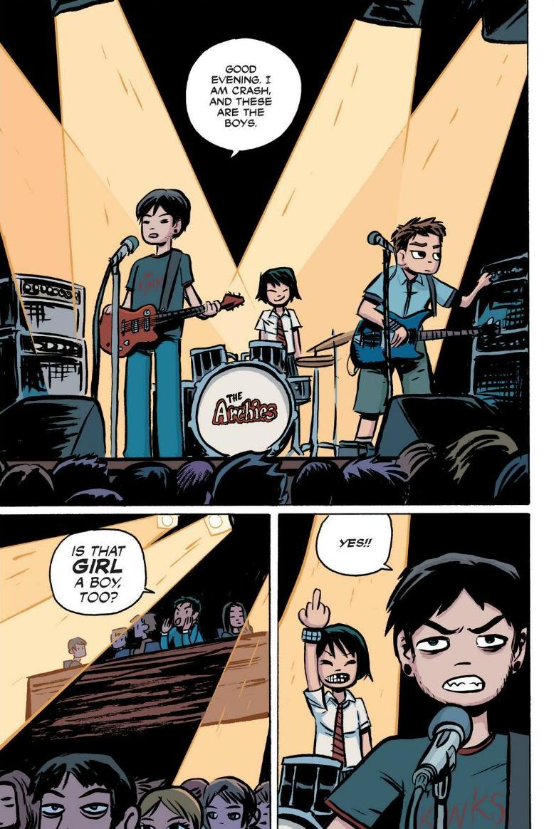Read online Scott Pilgrim comic -  Issue #1 - 113