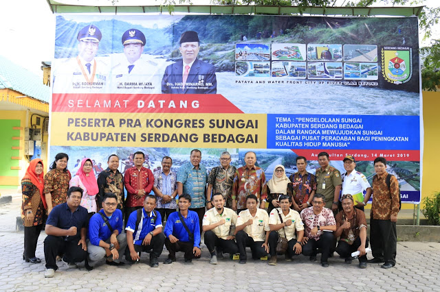 Bupati Buka Kongres Pemanfaatan Sungai