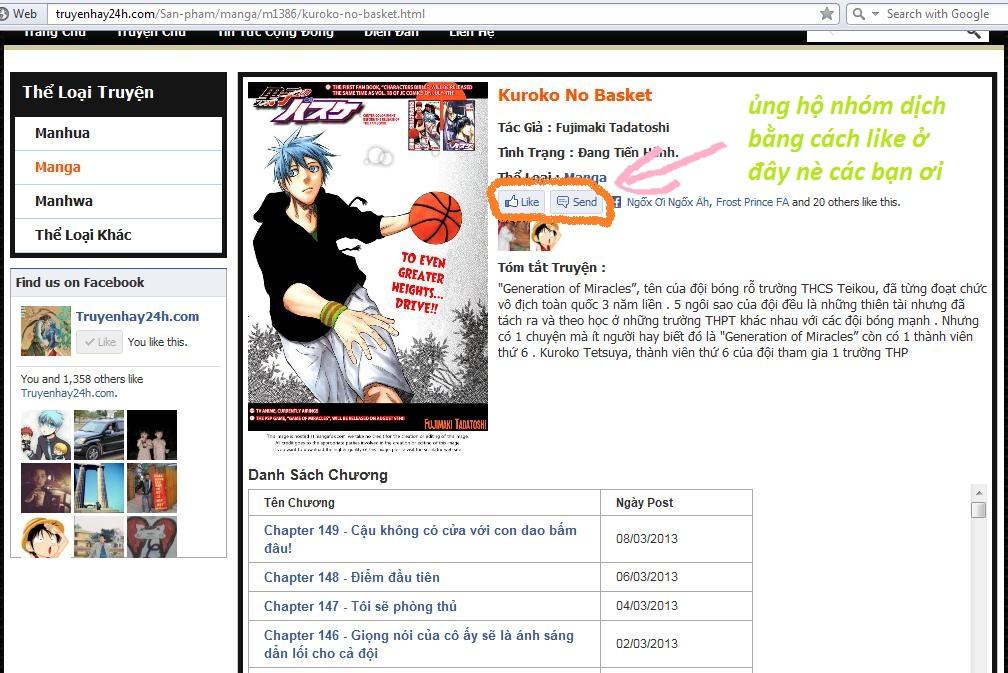 Kuroko No Basket chap 166 trang 19