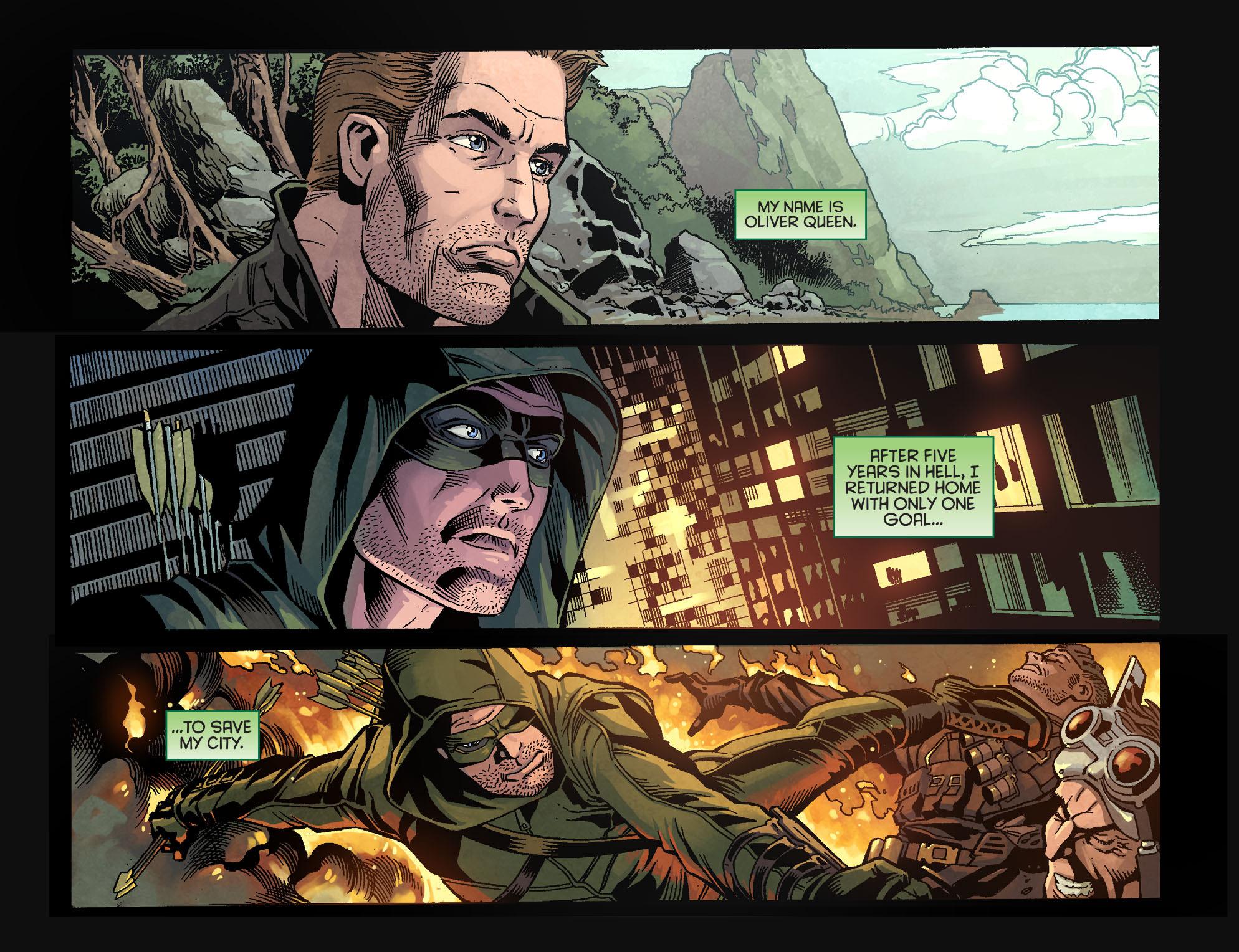 Read online Arrow: Season 2.5 [I] comic -  Issue #1 - 3