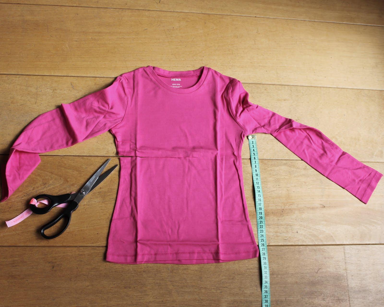 Vaak Van Jansen: Hoe maak ik een t-shirt-jurkje? #UM86