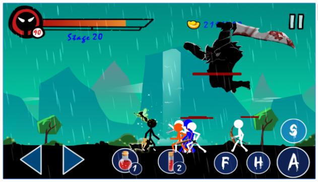Download Stickman Ghost Warrior Apk v1.3 Mod Gratis ...