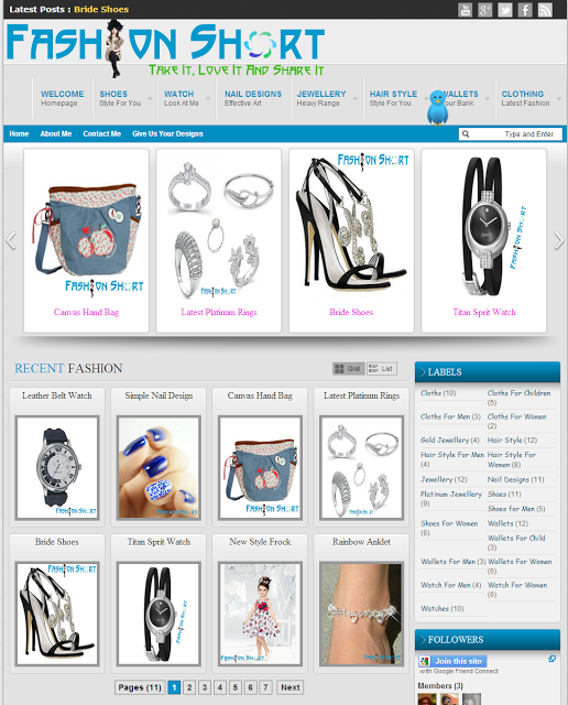 Blogger Ürün Tanıtım Temasi