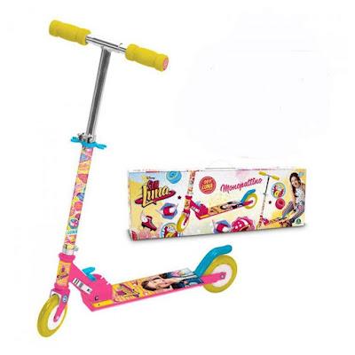 TOYS : JUGUETES - DISNEY Soy Luna Patinete con 2 ruedas Producto Oficial Serie Television Disney Channel Giochi Preziosi | Comprar en Amazon España