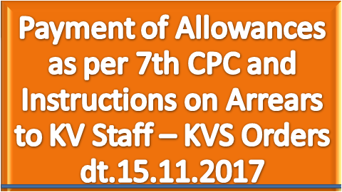 payment-of-allowances-as-per-7th-cpc-kvs-paramnews