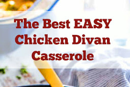 The Best EASY Chicken Divan Casserole Recipe #dinner #chickendinner #casserole #chickencasserole #divan #easydinner #bestdinnerrecipe