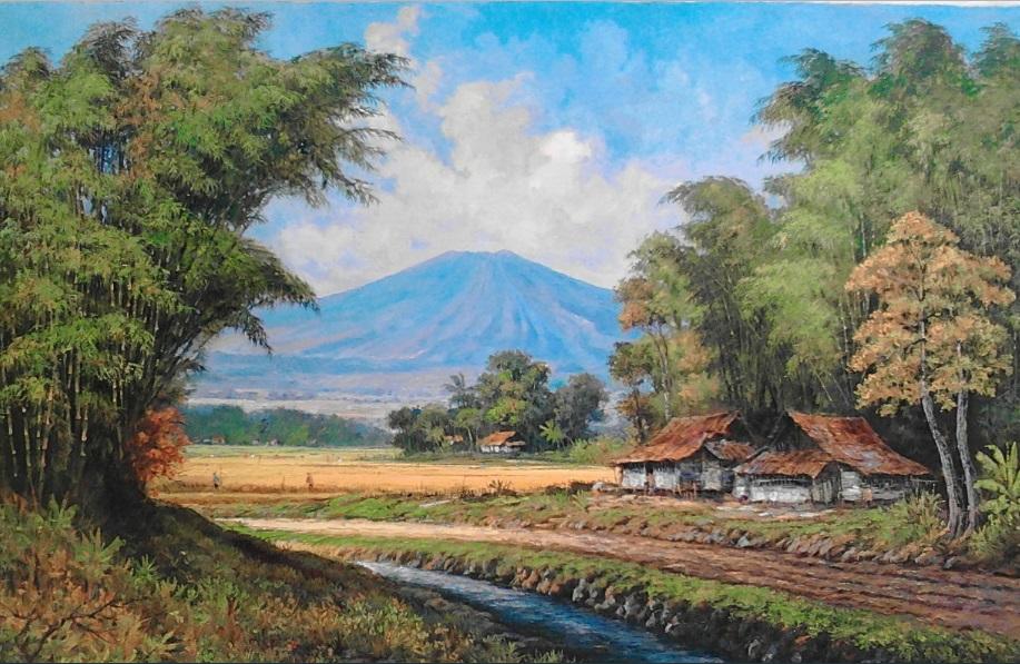 recullsdigitals 10 Lukisan Pemandangan Alam Yang Indah
