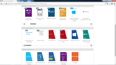 katalog%2Bdreamspark - Software Gratis dari Microsoft, DreamSpark tempatnya!